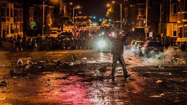 Photo of American Awakening- 200 arrested in Baltimore unrest by brutal cops