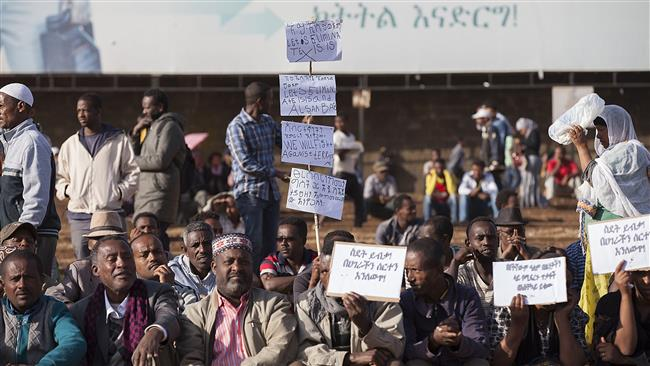 Photo of 1000s of Ethiopians stage protest against ISIL terrorists