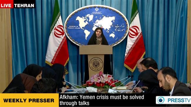 Photo of Iran dismisses military solution to Yemen crisis, urges talks