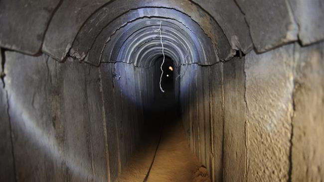 Photo of Egyptian army demolishes 69 tunnels under Gaza border