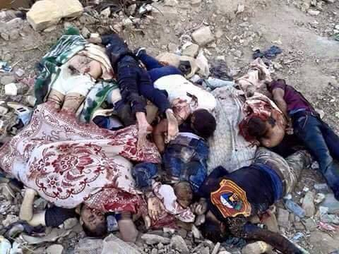 Photo of Turkey, Israel, USA, West, KSA, Gulf countries-backed, armed, financed ISIL massacred 20 members of 3 families in Ramadi countryside.
