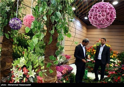 Photo of International Exhibition of Flowers and Plants Underway in Tehran