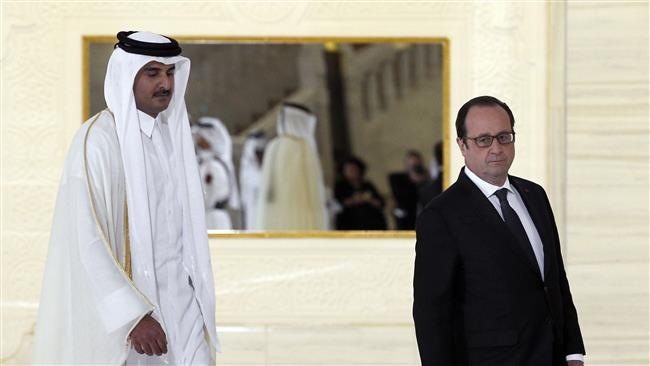 Photo of Inhuman zionist Hollande oversees signing deal to sell fighter jets to Terrorism Backer Qatar