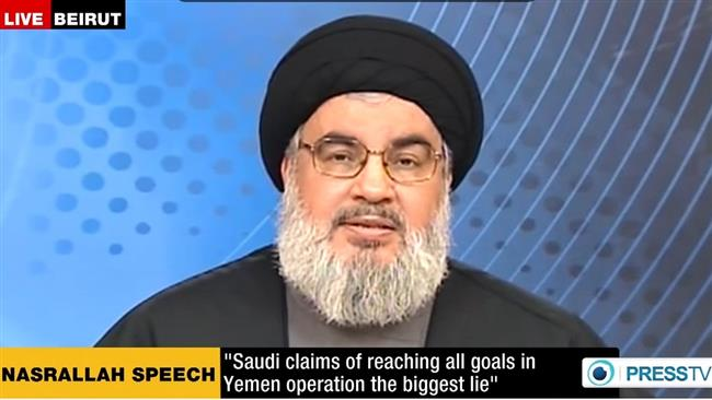 Photo of Sayyed Hassan Nasrallah: Saudi war on Yemen has failed