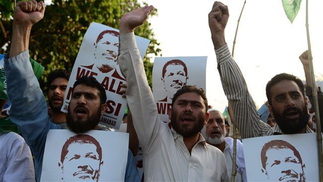 Photo of Pakistan defends stance on Morsi death sentence