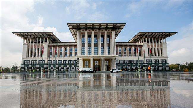 Photo of Turkish president's palace ruled 'illegal'