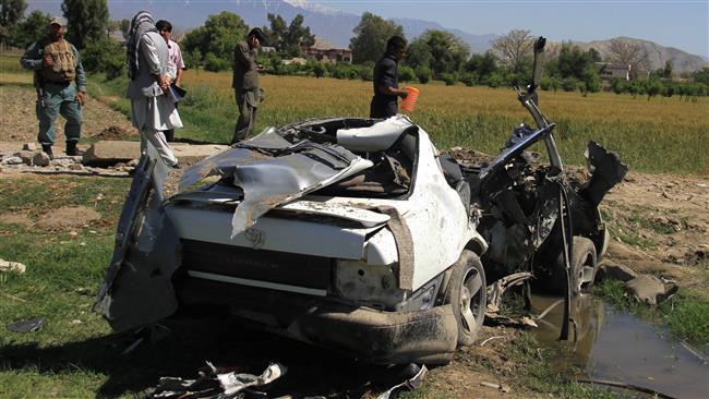 Photo of Roadside bomb kills two, injures 4 in east Afghanistan