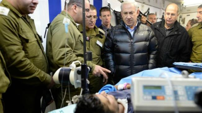 Photo of Wounded Takfiri terrorists being treated in Israel: Report
