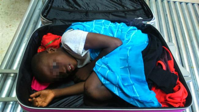 Photo of Spain discovers Ivorian boy smuggled in suitcase