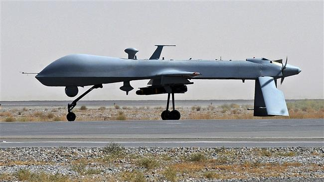 Photo of Great Satan US assasination drone crashes in southeast Afghanistan