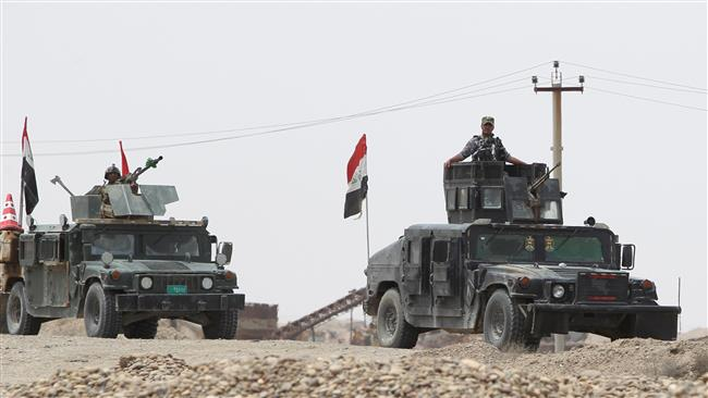 Photo of Key district retaken near Iraq's Ramadi
