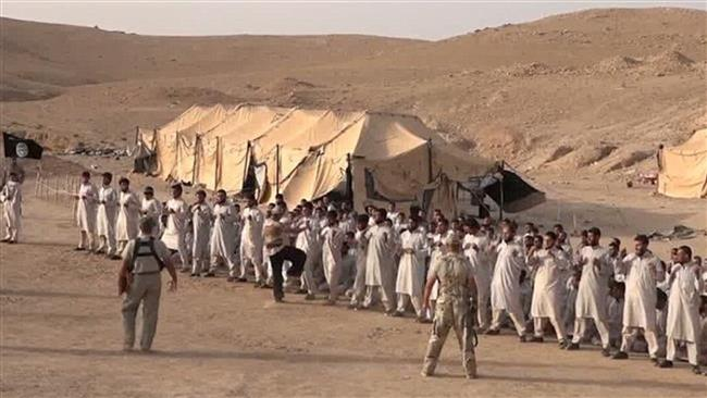 Photo of ISIL training Taliban militants in Afghanistan's north