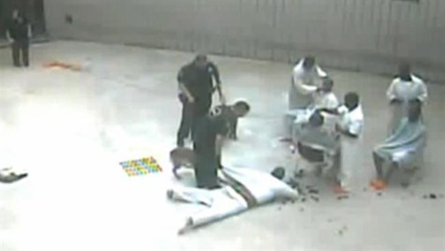 Photo of Video: Welcome to the democracy land- Guard and his dog attacking Louisiana inmate 'for no reason'