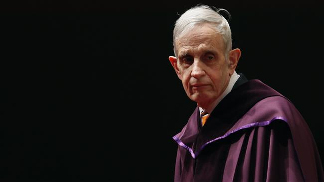 Photo of Nobel Laureate, mathematician John Nash dies in crash