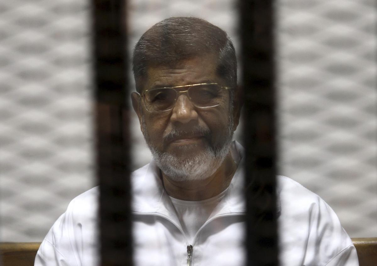 Photo of Egypt's Morsi gets death sentence