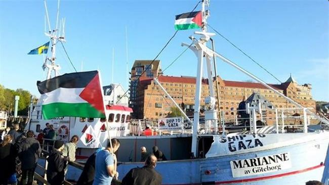 Photo of Zionist Israeli navy forces seize Swedish ship en route to Gaza: Reports
