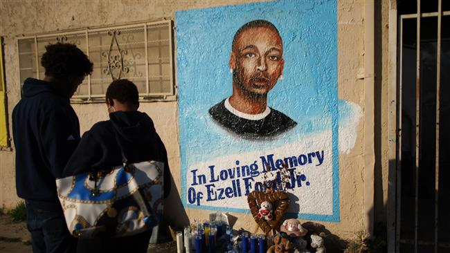 Photo of LAPD officers justified in fatally shooting of mentally ill black man