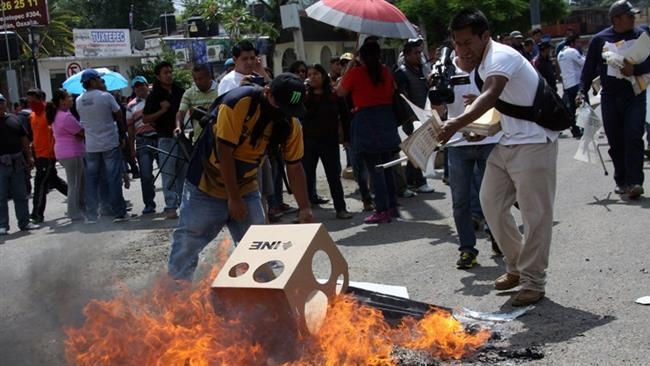 Photo of Scores arrested during Mexico elections turmoil: Sources