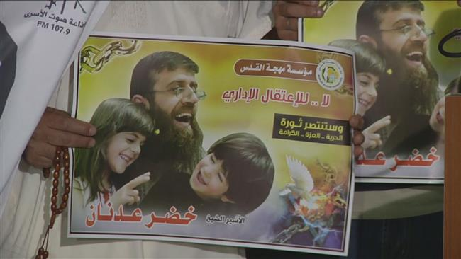 Photo of Palestinians celebrate victory of hunger striking prisoner