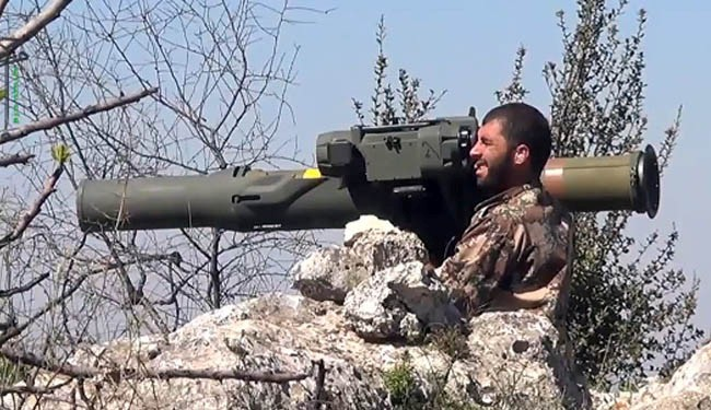 Photo of ISIS Fighters in Possession of U.S. Anti-Tank Missiles