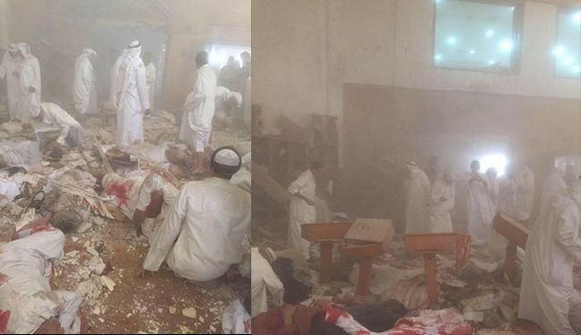 Terrorist Attack to Shiites mosque in Kuwait causing casualties