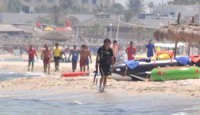 Watch: Tunisian Terrorists Running across Beach after killing 38 Tourists