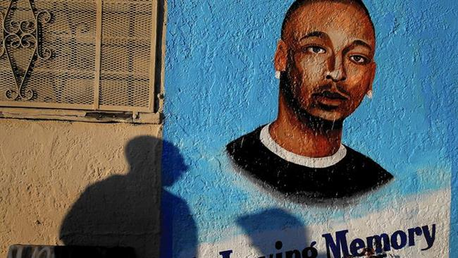 Photo of Los Angeles protesters demand justice for Ezell Ford