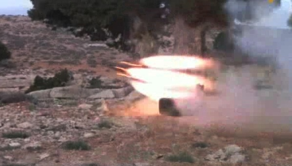 Photo of Hezbollah Targets Terrorist ISIL Gathering Point in Arsal Barrens