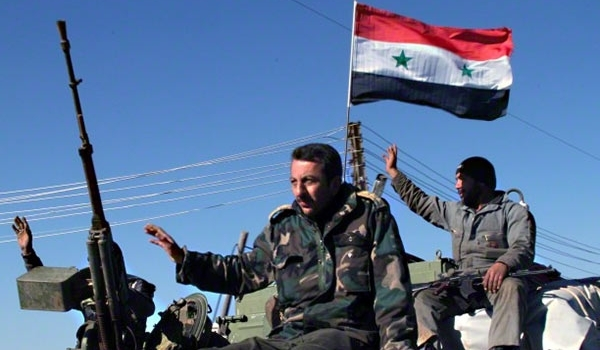 Photo of Syrian Army Only 4km Away from Tadmur City Now