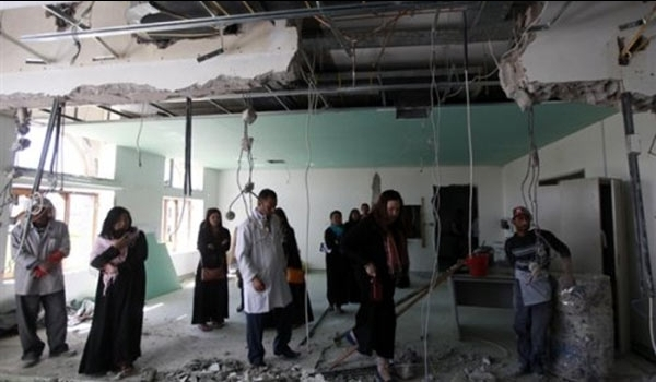 Photo of Saudi Jets Stage Strafing Attacks against Hospital in Hajjah