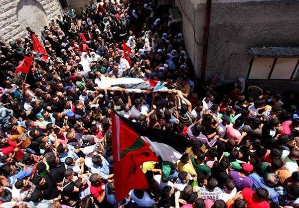 Photo of Photos- Funeral Ceremony for Palestinian Victim Killed By Zionist Israeli Forces