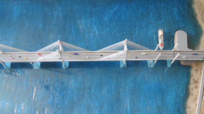 Photo of Longest Iran bridge to reach Qeshm Island