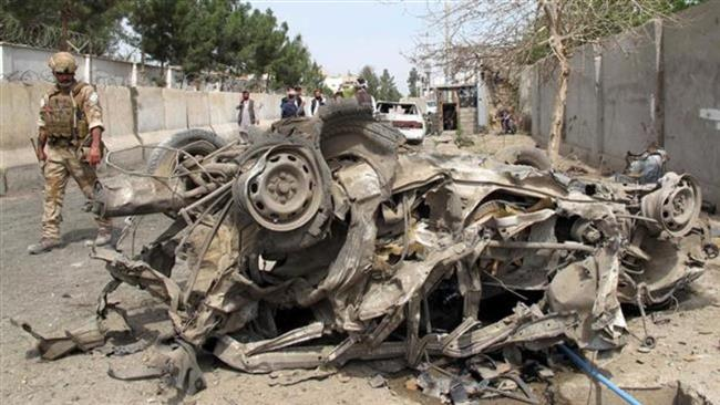 Photo of 2 killed, 11 wounded in car bomb blast in north Afghanistan