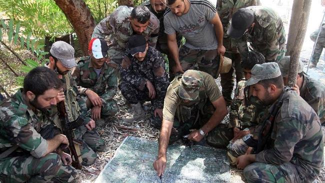 Photo of Syria army fighting to liberate Jisr al-Shughour