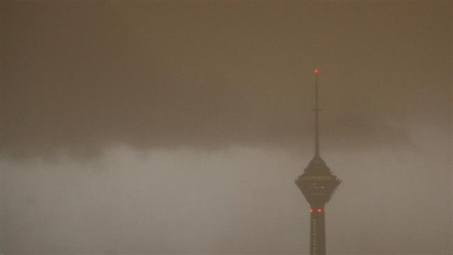Photo of Unexpected summertime storm hits Iran capital