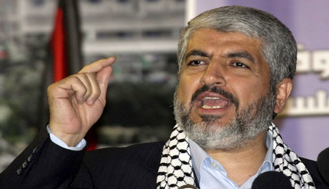 Khaled Mashaal Rejects Reports on Positive Response to Riyadh in War on Yemen