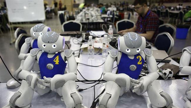 Photo of Iran team finishes runner-up in RoboCup World Championships