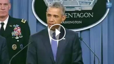 Photo of VIDEO- Finally, Obama declared, confessed full support for ISIL