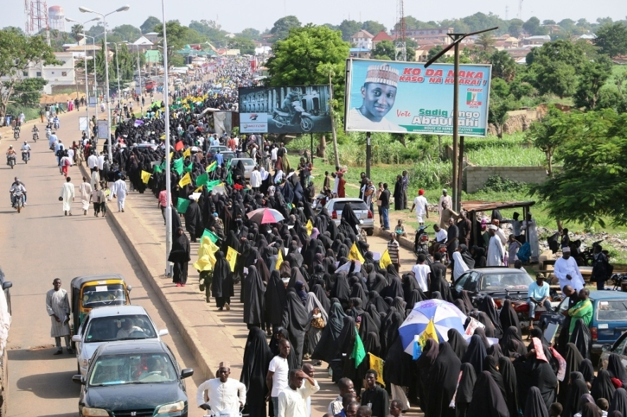 Photo of Photos- International Quds Day Procession of Islamic Movement in Nigeria in Zaria city
