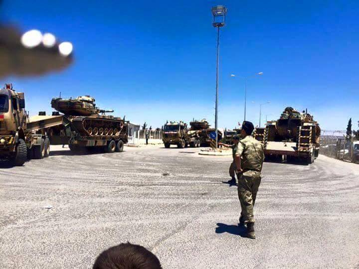 Photo of Turkey enhancing deployment of troops at the Syrian border while many terrorists entering from Turkey to Syria have increased their attack to West Zahra of Aleppo.