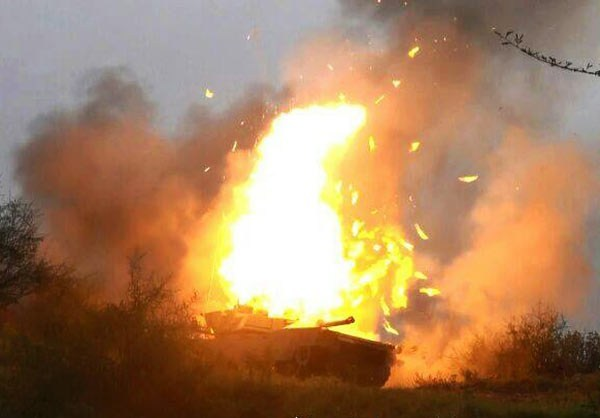 Photo of Photos- Yemeni Forces Destroy Saudi Military Vehicles, Seize Humvee