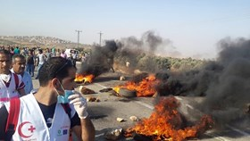 Photo of Dozens injuried in clashes south of Nablus