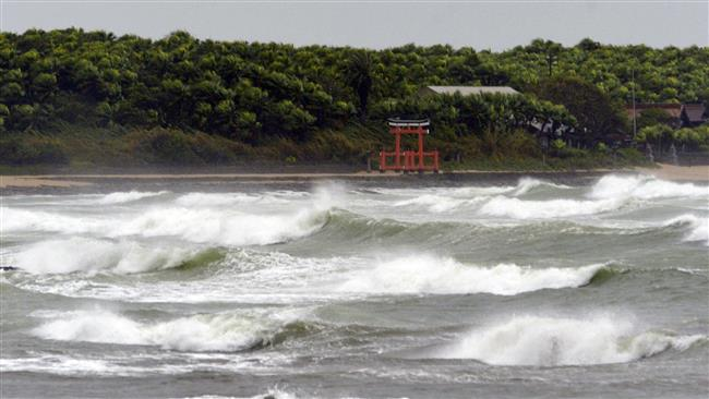 Photo of Typhoon Goni has slammed into the Japanese mainland, forcing the government to issue an evacuation advisory for tens of thousands of people.
