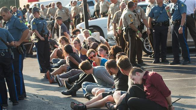Photo of Dozens of protesters arrested in Missouri