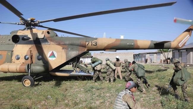 Photo of Military chopper crash in southern Afghanistan kills 17