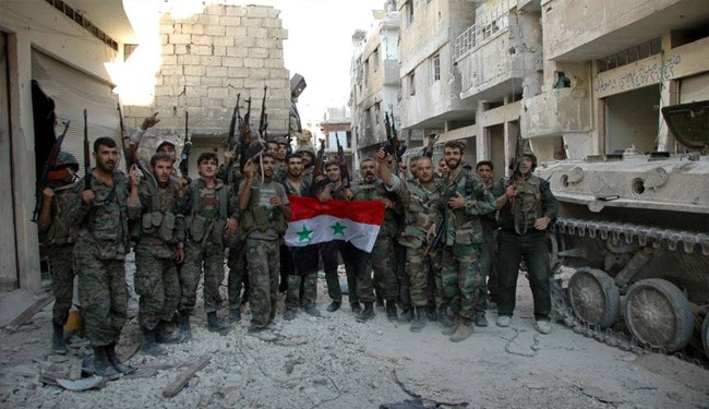 Syrian Army Kills ISIS Terrorists in Homs