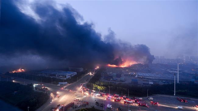 Photo of China warehouse blasts toll shoots up to 158