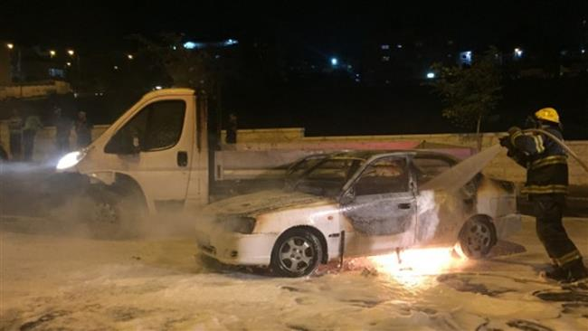 Photo of Three Israelis injured in East al-Quds fire bomb attack