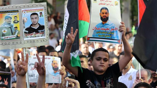Photo of Palestinian hunger striking prisoner gives terrorist israel ultimatum