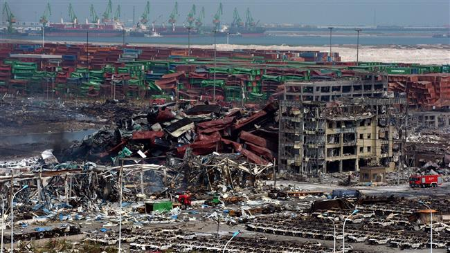 Photo of Clean-up operations conitnue at China blast site